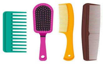 IS YOUR HAIRBRUSH CLEAN? FOR HEALTHY HAIR